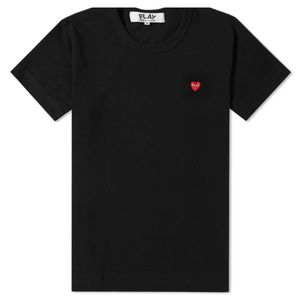 COMME DES GARCONS PLAY LITTLE RED HEART TEE